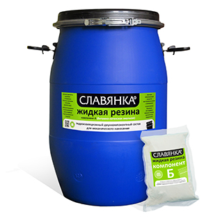 Мастика славянка® жидкая резина однокомпонентная цена устройство дренажа гидроизоляция