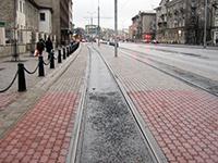 Капитальный ремонт трамвайных путей с использованием битумно-полимерной мастики ИЖОРА® МБП-Г-90. Тартусское шоссе (Таллинн, Эстония)