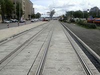 Капитальный ремонт трамвайных путей с использованием битумно-полимерной мастики ИЖОРА® МБП-Г/Шм-75 (Рига, Латвия)